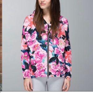 Lululemon Find Your Om Hoodie in Floral